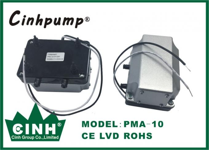 Black Color High Output Micro Diaphragm Air Pump With Long Service Lifetime